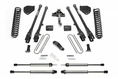 "Lift Kit - 3""-4"" Lift Kits - Fabtech - Fabtech 4"" 4 Link Lift Kit K2216DL 