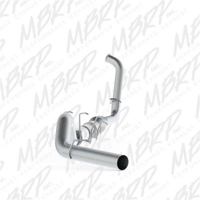 Exhaust - Exhaust System Kit - MBRP Exhaust - P Series Turbo Back Exhaust System | MBRP Exhaust (S62340P)