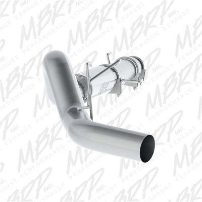 Exhaust - Exhaust System Kit - MBRP Exhaust - P Series Cat Back Exhaust System | MBRP Exhaust (S61180P)