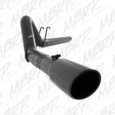 Exhaust - Exhaust System Kit - MBRP Exhaust - Black Series Filter Back Exhaust System | MBRP Exhaust (S6242BLK)