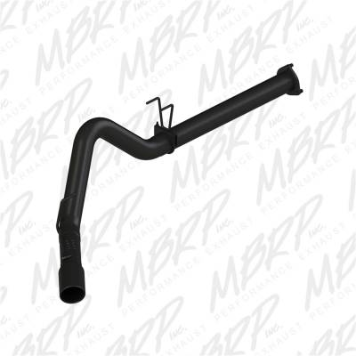Exhaust - Exhaust System Kit - MBRP Exhaust - Black Series Filter Back Exhaust System | MBRP Exhaust (S6248BLK)