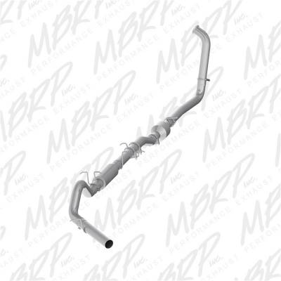 Exhaust - Exhaust System Kit - MBRP Exhaust - P Series Turbo Back Exhaust System | MBRP Exhaust (S6206P)