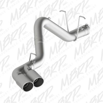 Exhaust - Exhaust System Kit - MBRP Exhaust - Installer Series Filter Back Exhaust System | MBRP Exhaust (S6033AL)