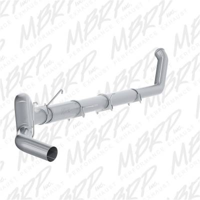 Exhaust - Exhaust System Kit - MBRP Exhaust - P Series Turbo Back Exhaust System | MBRP Exhaust (S61140P)
