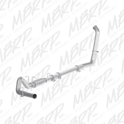 Exhaust - Exhaust System Kit - MBRP Exhaust - P Series Turbo Back Exhaust System | MBRP Exhaust (S6212P)