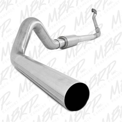 Exhaust - Exhaust System Kit - MBRP Exhaust - P Series Turbo Back Exhaust System | MBRP Exhaust (S6218P)