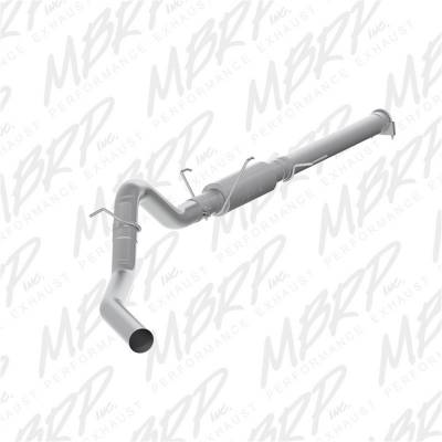 Exhaust - Exhaust System Kit - MBRP Exhaust - P Series Cat Back Exhaust System | MBRP Exhaust (S6108P)