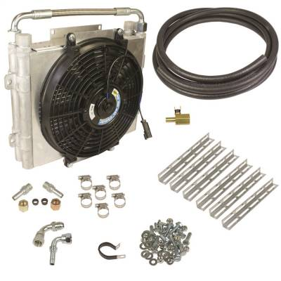 BD Diesel - Xtrude Double Stacked Auxiliary Transmission Cooler Kit | BD Diesel (1030606-DS-12)
