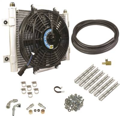 Automatic Transmission - Auto Trans Oil Cooler - BD Diesel - Xtruded Auxiliary Transmission Oil Cooler Kit | BD Diesel (1030606-1/2)