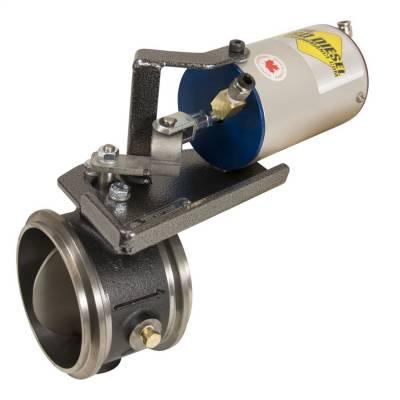 BD Diesel - 94-97 Ford 7.3 L Powerstroke Exhaust Brake | Truck/Van Remote Mount Vacuum Controlled | BD Diesel