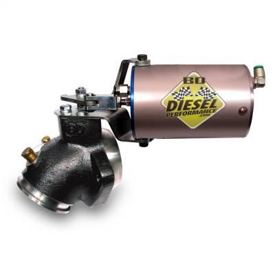BD Diesel - 94-98 Dodge Exhaust Brake | 60PSU Vac/Turbo Mount | BD Diesel