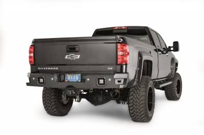 Warn - Ascent Rear Bumper 14-17 Silverado/Sierra