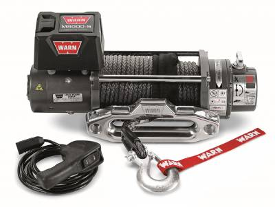Winches and Accessories - Winch - Warn - M8000-S Self-Recovery Winch | Warn (87800)