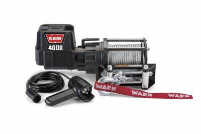 Winches and Accessories - Winch - Warn - 4000 DC Utility Winch | Warn (94000)