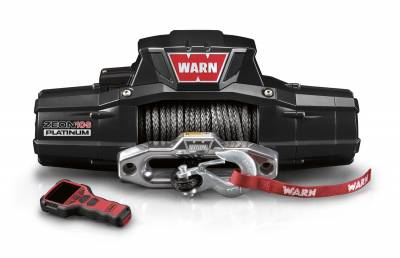 Winches and Accessories - Winches - Warn - ZEON Platinum 10-S Winch | Warn (92815)