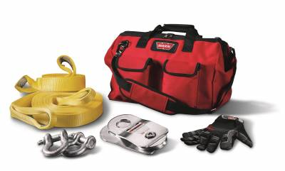 Winches and Accessories - Winch Accessory Kit - Warn - Medium Duty Winching Accessory Kit | Warn (88900)