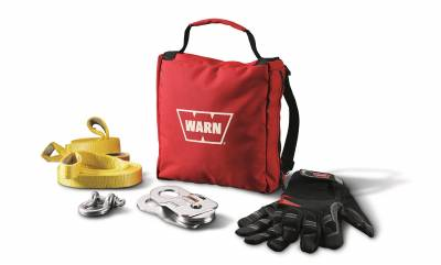 Winches and Accessories - Winch Accessory Kit - Warn - Light Duty Winching Accessory Kit | Warn (88915)