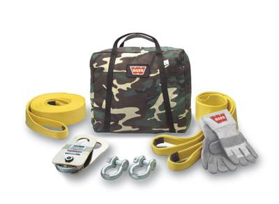 Winches and Accessories - Winch Accessory Kit - Warn - Medium Duty Winching Accessory Kit | Warn (62858)