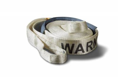 Towing Accessories - Tow Strap - Warn - Premium Recovery Strap   Warn (88924)