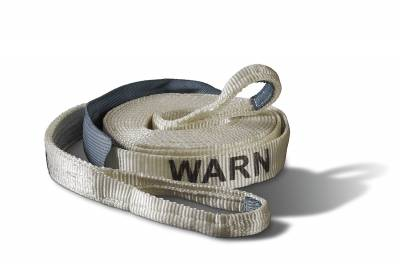 Towing Accessories - Tow Strap - Warn - Premium Recovery Strap   Warn (88922)