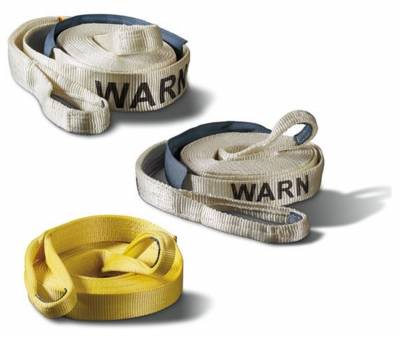 Towing Accessories - Tow Strap - Warn - Standard Recovery Strap   Warn (88913)