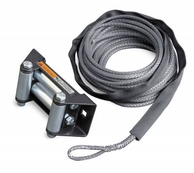 Winches and Accessories - Winch Rope - Warn - Synthetic Rope Replacement Kit | Warn (77835)
