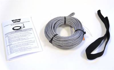 Winches and Accessories - Winch Rope - Warn - Synthetic Rope Service Kit | Warn (73599)