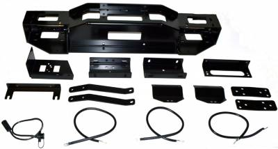 Winches and Accessories - Winch Mount Kit - Warn - Hidden Kit Winch Mounting System | Warn (70005)