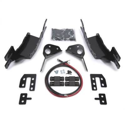 Winches and Accessories - Winch Mount Kit - Warn - Gen II Trans4mer Winch Mount Bracket Kit | Warn (98400)