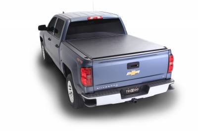 Truxedo - 15-19 GM short bed TruXedo Lo Pro QT Tonneau Cover | Truxedo (572001)