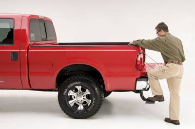99-16 Ford F250/F350/F450 Super Dury AMP Research, BedStep, 75303-01A - Diesel Pros