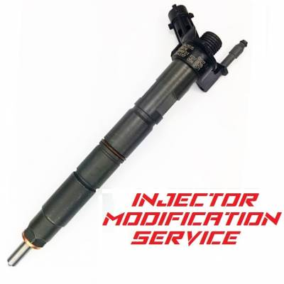 Diesel Injection and Delivery - Diesel Fuel Nozzle Set - Dynomite Diesel - Ford 6.7L Injector Modification Service Dynomite Diesel