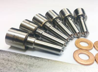 Dynomite Diesel - Dodge 03-04 Injector Nozzle Set 15 Percent Over 50hp Dynomite Diesel