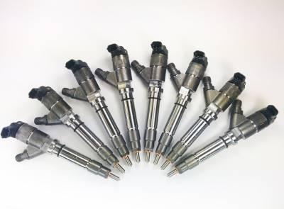 Diesel Injection and Delivery - Fuel Injector - Dynomite Diesel - Duramax 08-10 LMM Reman Injector Set Economy Series Dynomite Diesel