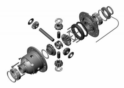 Performance Engine & Drivetrain - Differential & Axle - ARB 4x4 Accessories - ARB Air Locker | Front AAM 9.25 All Spline (RD197)