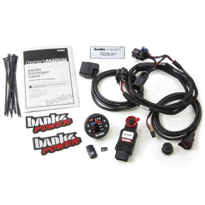 Banks Power - Derringer Tuner (Gen2) with iDash 1.8 DataMonster 2017-19 Chevy/GMC 2500/3500 6.6L L5P 66793