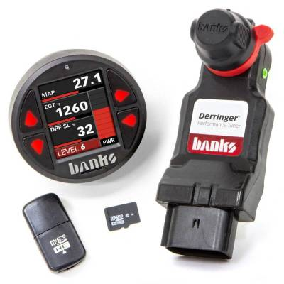 Banks Power - Derringer Tuner w/DataMonster with ActiveSafety includes Banks iDash 1.8 DataMonster for 2020 Chevy/GMC 2500/3500 6.6L Duramax L5P Banks Power 67103 - Image 5