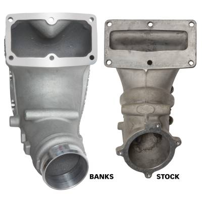 Banks Power - Monster-Ram Intake Elbow Kit W/Fuel Line 3.5 Inch Natural 07.5-18 Dodge/Ram 2500/3500 6.7L Banks Power 42788 - Image 3