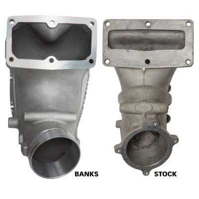 Banks Power - Monster-Ram Intake Elbow Kit W/Fuel Line and Hump Hose 4 Inch Natural 07.5-18 Dodge/Ram 2500/3500 6.7L Banks Power 42790 - Image 3