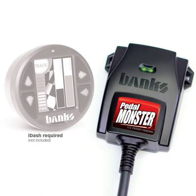 Performance Engine & Drivetrain - Tuners and Chips - Banks Power - PedalMonster Kit - Stand Alone For Use With iDash 1.8 | Banks Power 64321