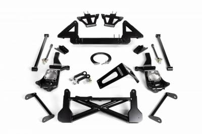 Suspension Steering & Brakes - Lift Kit - Cognito Motorsports - Cognito 10-12 Inch Front Suspension Lift Kit For 11-19 Silverado/Sierra 2500HD/3500HD 2WD Stabilitrak
