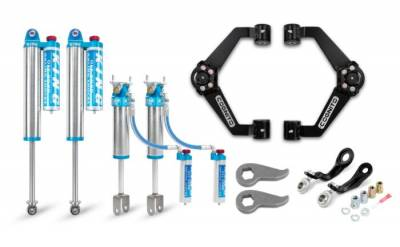 Suspension Steering & Brakes - Leveling Kits - Cognito Motorsports - Cognito 3-Inch Elite Leveling Kit with King 2.5 Reservoir Shocks For 11-19 Silverado/Sierra 2500/3500 2WD/4WD