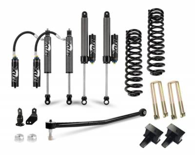 "Lift Kit - 3""-4"" Lift Kits - Cognito Motorsports - Cognito 3-Inch Elite Lift Kit With Fox FSRR 2.5 Shocks For 2020 Ford F250/F350 4WD Trucks"