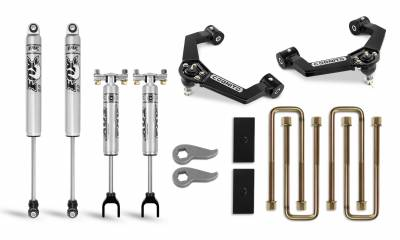 Suspension Steering & Brakes - Leveling Kits - Cognito Motorsports - Cognito 3-Inch Performance Leveling Lift Kit With Ball Joint Control Arms For 2020 Silverado/Sierra 2500/3500