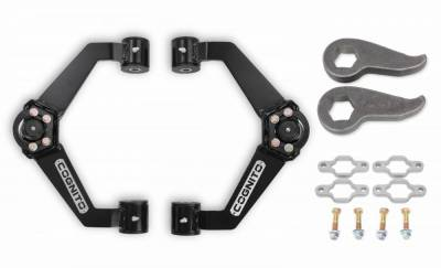 Suspension Steering & Brakes - Leveling Kits - Cognito Motorsports - Cognito 3-Inch Standard Leveling Kit for 11-19 Silverado/Sierra 2500HD/3500HD