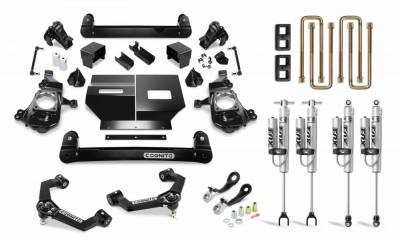 "Lift Kits - 3""-4"" Lift Kits - Cognito Motorsports - Cognito 4 Inch Performance Lift Kit with Fox PS 2.0 for 2020 Silverado/Sierra 2500/3500"