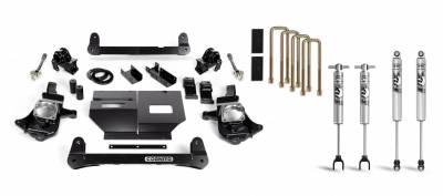 Cognito 4 Inch Standard Lift Kit For 11-19 Silverado/Sierra 2500HD/3500HD