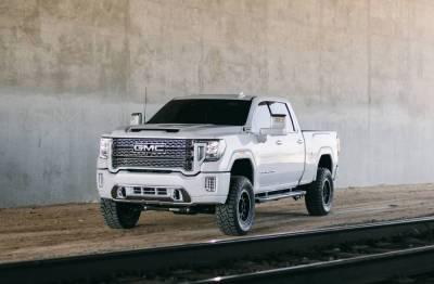 White 2020 GMC Denali 4 inch Lift