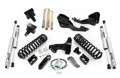 Suspension Steering & Brakes - Lift Kit - Cognito Motorsports - Cognito 5-Inch Standard Lift Kit With Fox PS 2.0 IFP Shocks For 2020 Ford F250/ F350 4WD Trucks