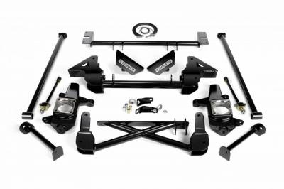 "Lift Kit - Over 6"" Lift Kits - Cognito Motorsports - Cognito 7-9 Inch Front Suspension Lift Kit For 07-10 Silverado/Sierra 2500HD/3500HD"